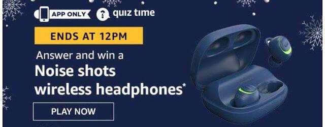 Win Noise shots wireless headphones