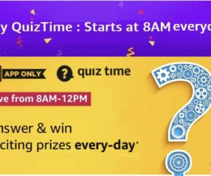 Amazon Quiz Answers for 4th August 2020 - Win Dyson Air Purifier
